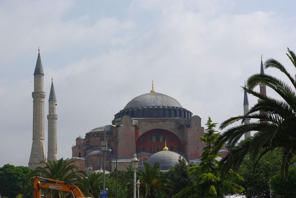 Antiga igreja bizantina Haya Sophia, depois mesquita e atualmente Museu
