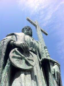 Homenagem ao grande navegador Pedro Álvares Cabral em sua cidade Natal