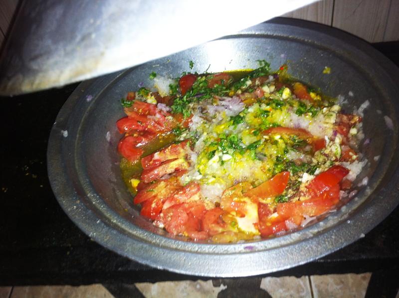 Omelete Berbere  por Hamid Rejdali