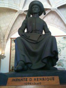 D. Henrique, o navegador, filho do casal D. João I e Filipa de Lancaster