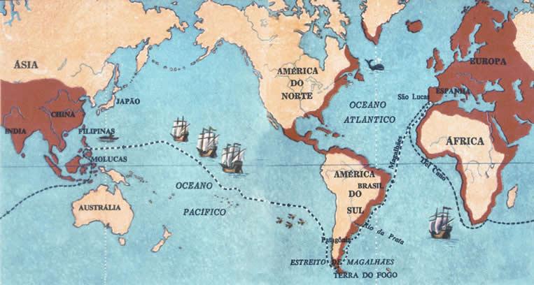 Mapa de Magalhães