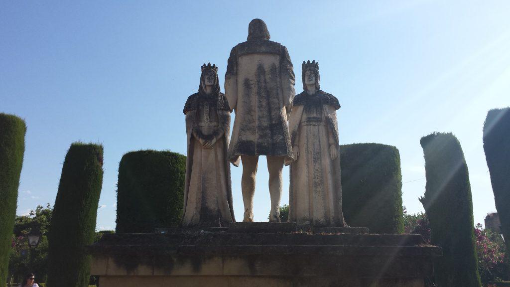 Casamento do reis católicos, Isabel de Castela e Fernando de Aragão, Alcazar de Córdoba