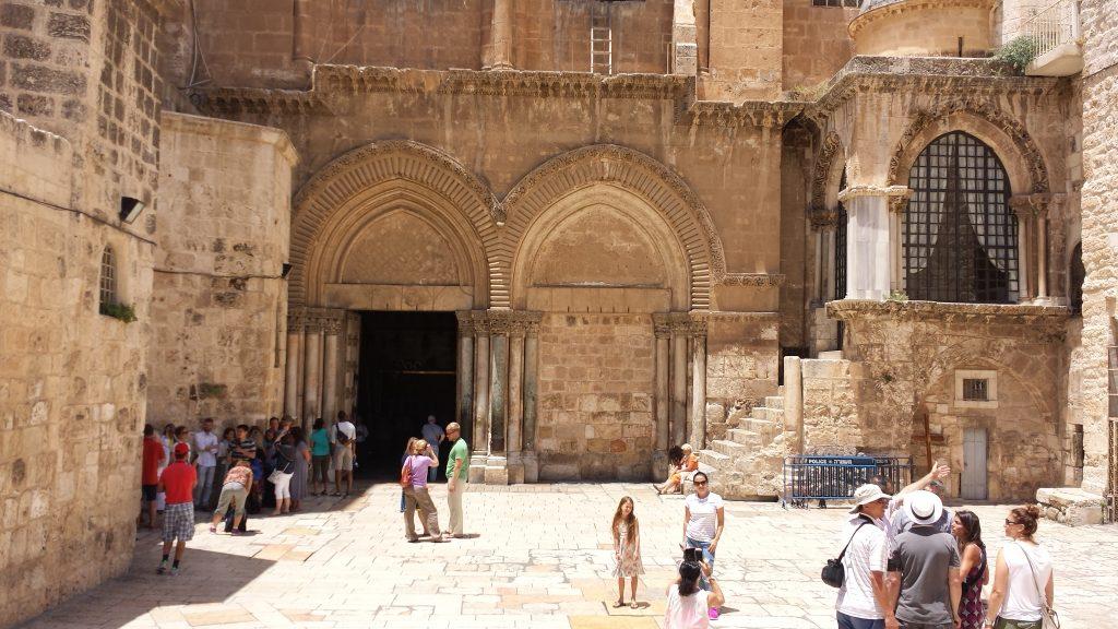 Igreja do Santo Sepulcro em Jerusalém, 2015, foto do autor
