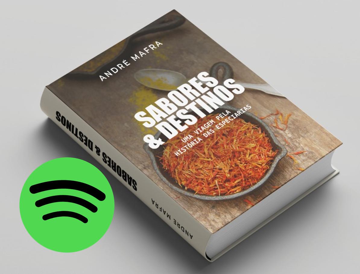 Que tal uma sugestão de músicas para você acompanhar a leitura do livro Sabores e Destinos?