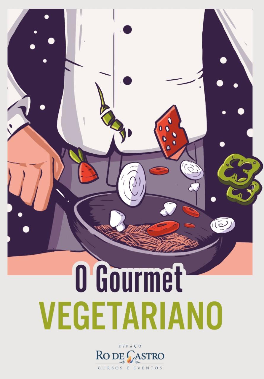 Lançamento da nova edição Gourmet vegetariano por Ro de Castro