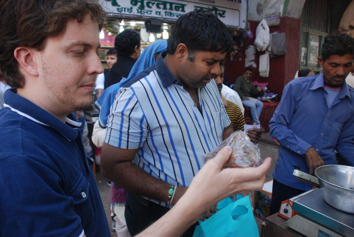 Paradigma indiano no uso de condimentos