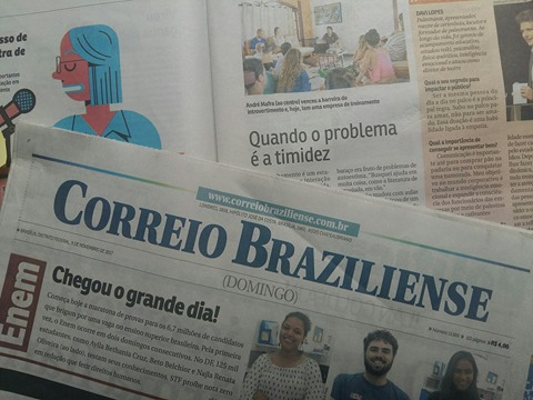 Prof. André Mafra em entrevista ao correio braziliense, novembro 2017