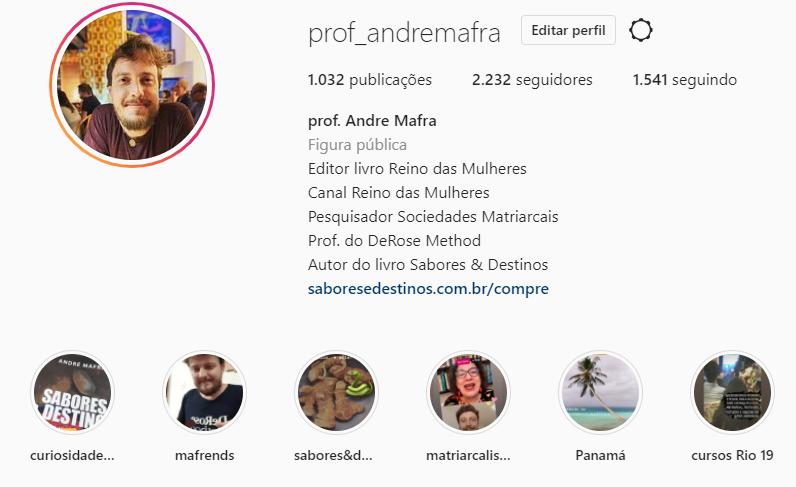 instagram Mafra